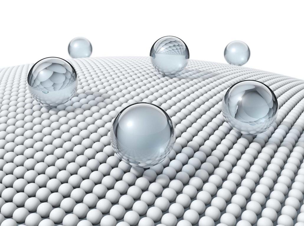 Angolo di contatto nanotecnologie