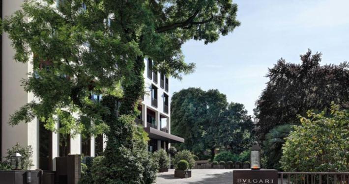 Bulgari Hotel Milano trattamento nanotecnologia