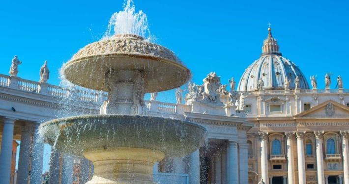 Fontana antica del Vaticano