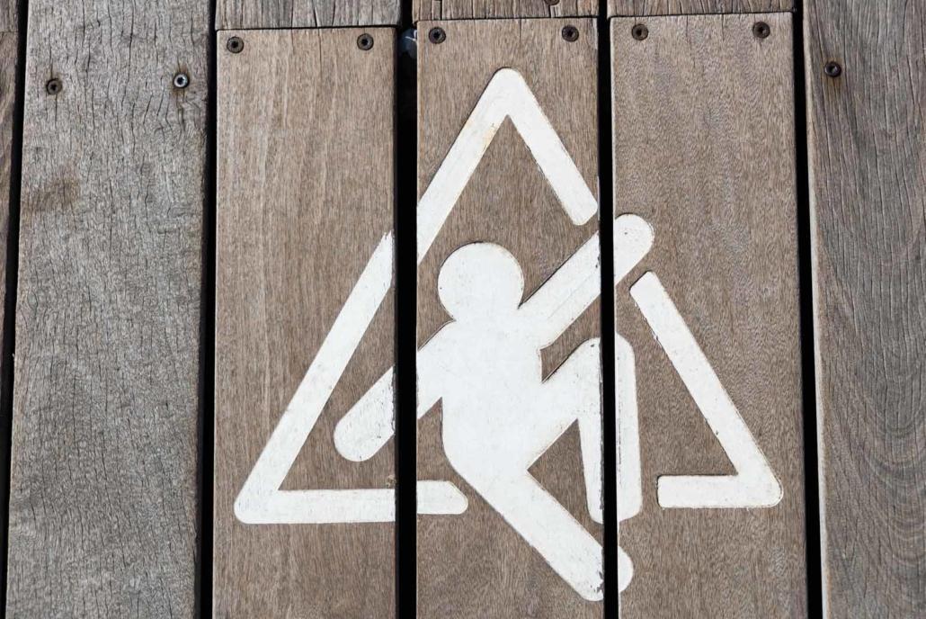 Trattamento antiscivolo pavimenti