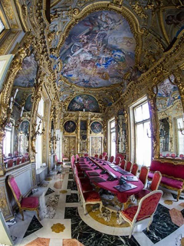 sala camera di commercio Genova
